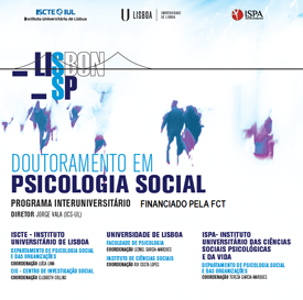FCT - PhD program in Social Psychology